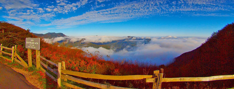 Blue Ridge Parkway - Graybeard Mtn Viewpoint