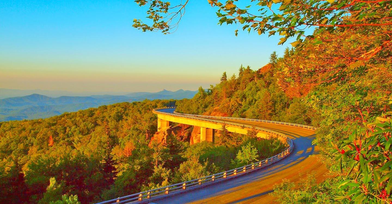 Blue Ridge Parkway - Tanawha Trail