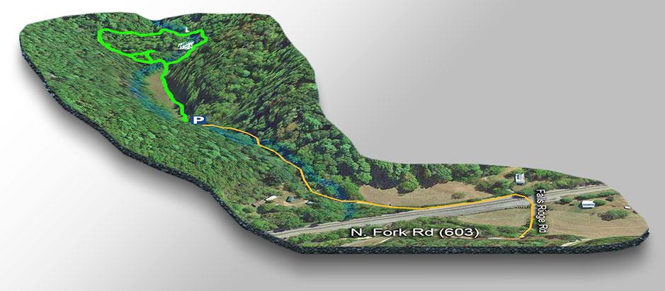 Map-Falls Ridge Falls-3D