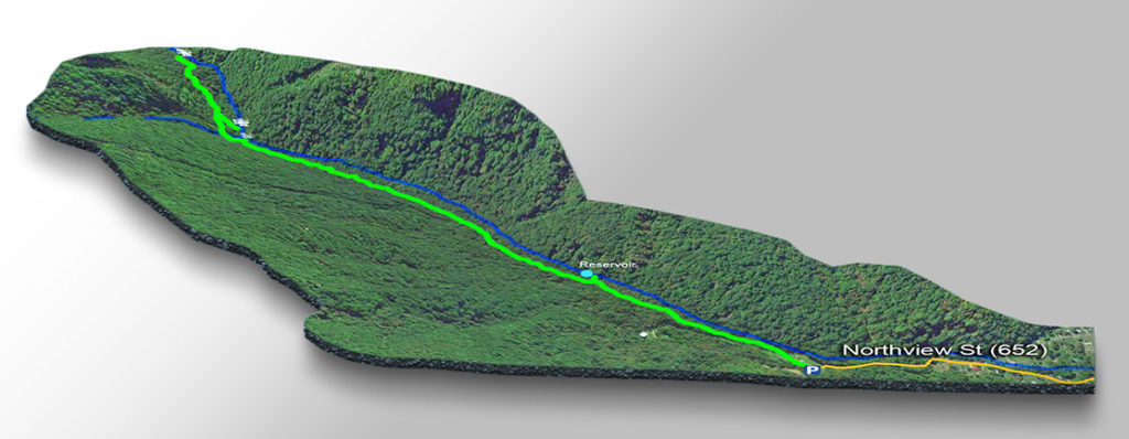 Map - Falls of Mill Creek Nature Park-3D