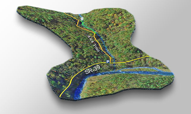 Laurel Run Trail Map