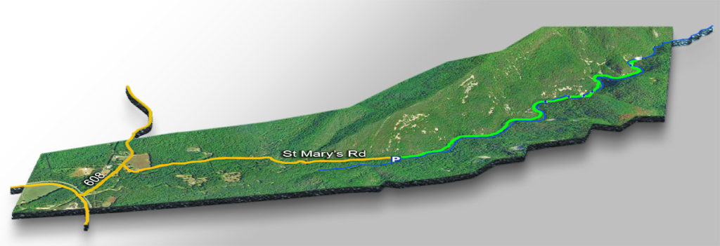 Trail Map-St Marys Falls