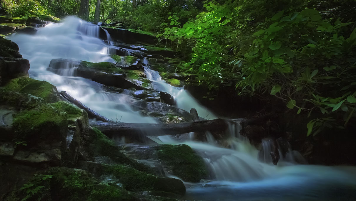 Rowlands Creek Falls
