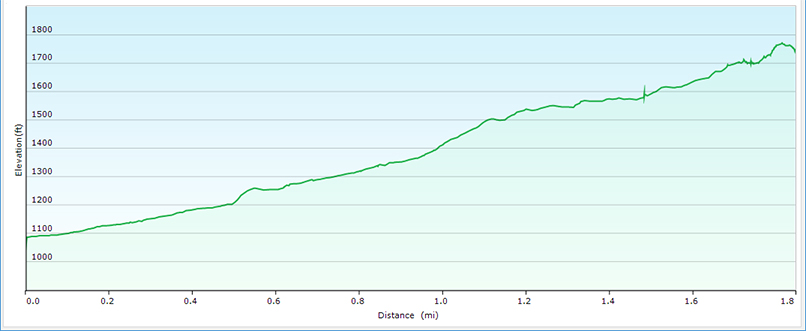 Lower Shamokin Trail Profile