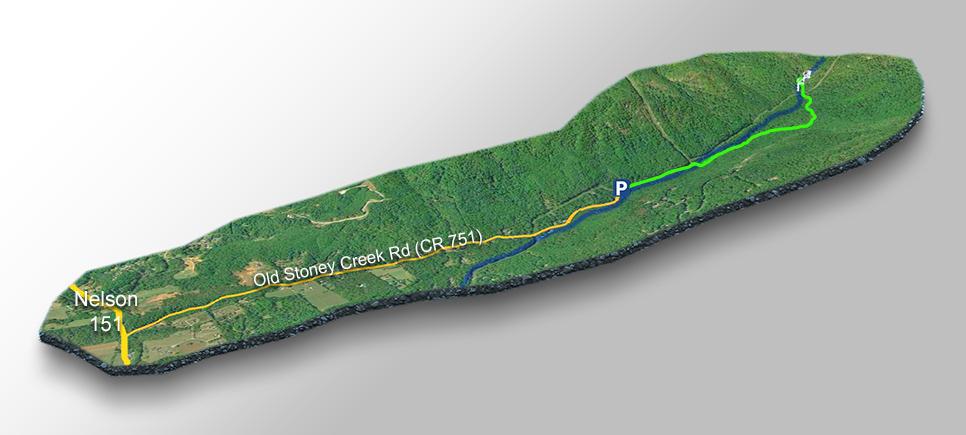 Trail Map- Lower Shamokin Falls