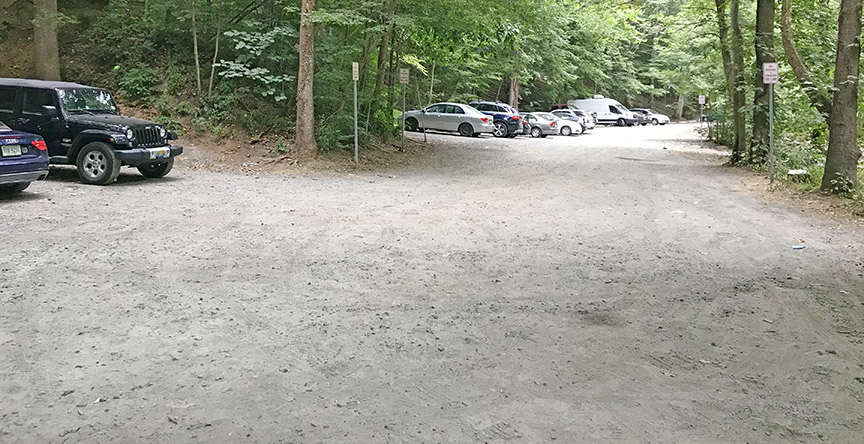 Scotts Run Trail Parking