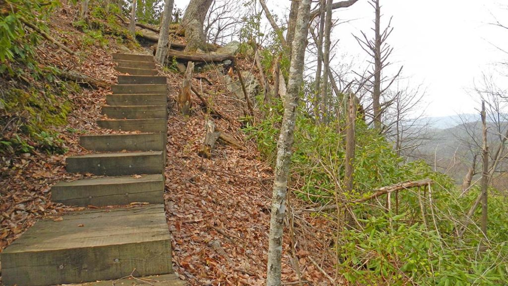 Apple Orchard Falls Trail Steps