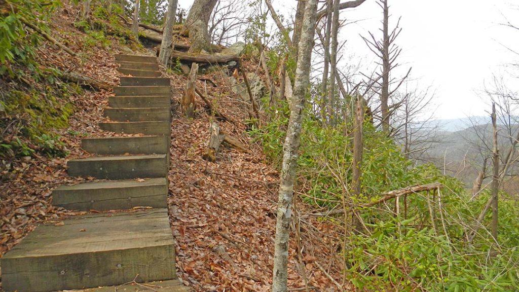 Apple Orchard Falls Trail Steps