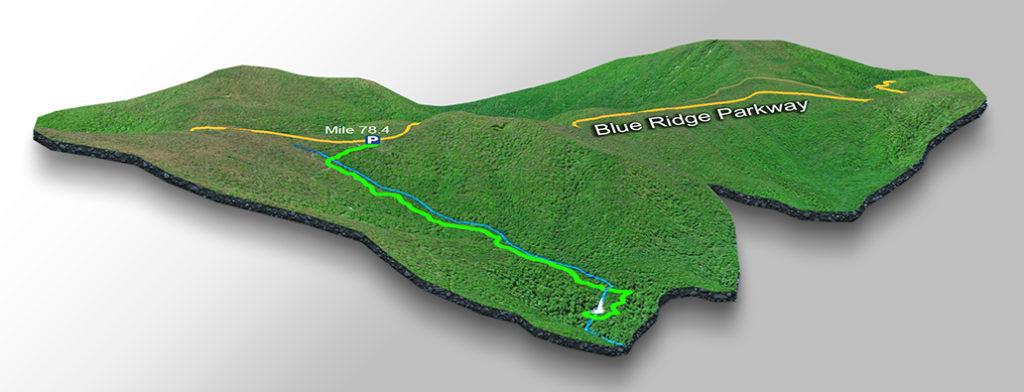Trail Map - Apple Orchard Falls