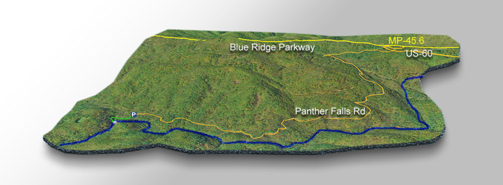 Trail Map - Panther Falls
