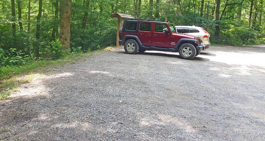 Panther Falls - Parking