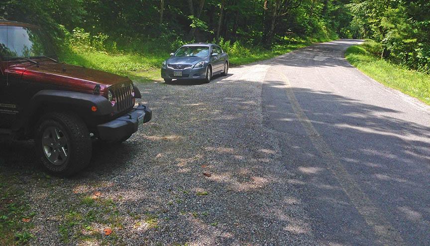 Statons Creek Falls - Parking