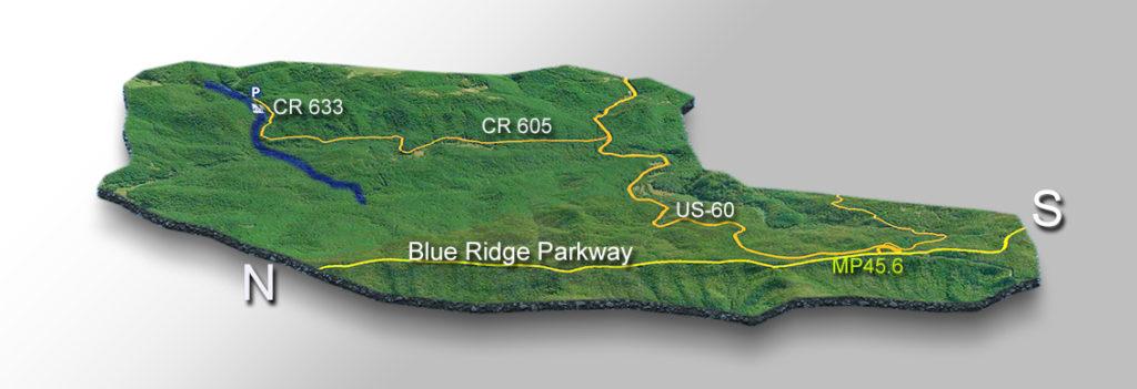 Trail Map - Statons Creek Falls