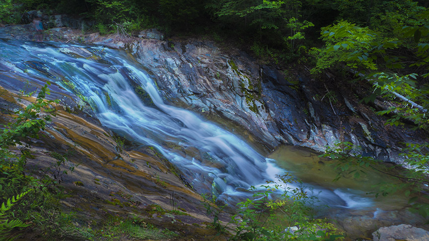 Big Branch Falls - Cascade
