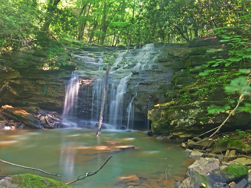 Crab Orchard Branch Falls