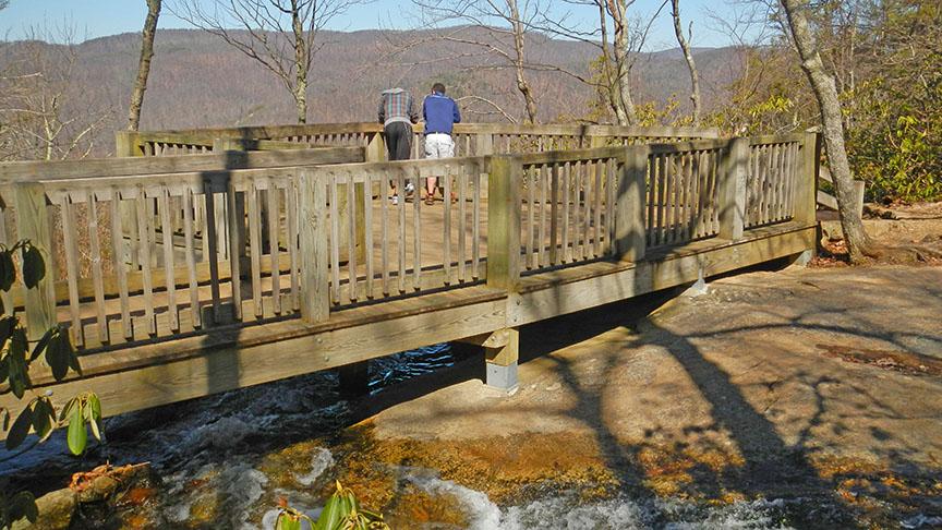 Crabtree Falls-VA-56 Platform