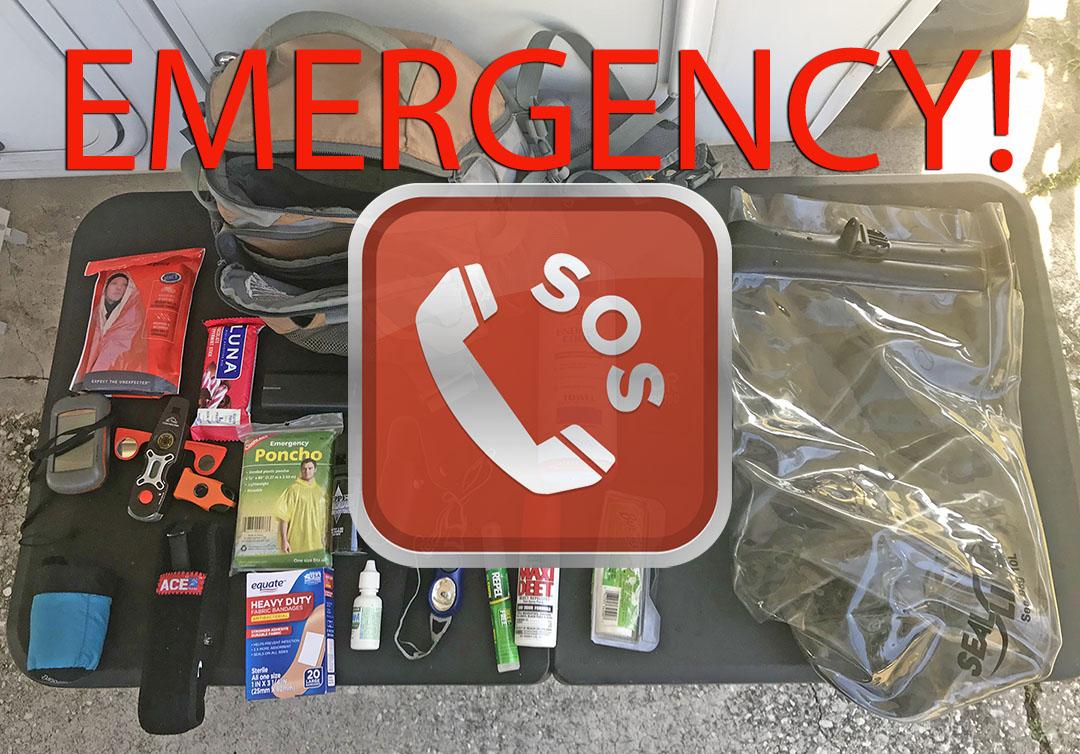 Hiking Emergency Kit
