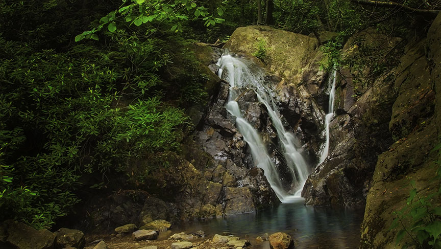 Lower Cabin Creek Falls
