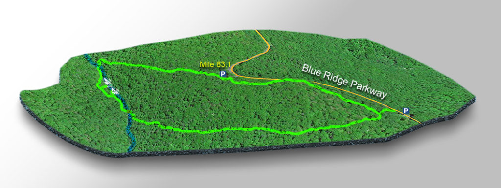Trail Map - Fallingwaters Cascades