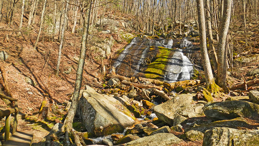 Yankee Horse Overlook - Wigwam Falls