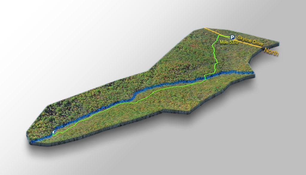 Trail Map - Big Rock Falls