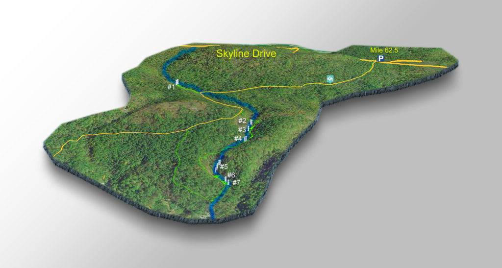 Trail Map - Falls of Dry Run