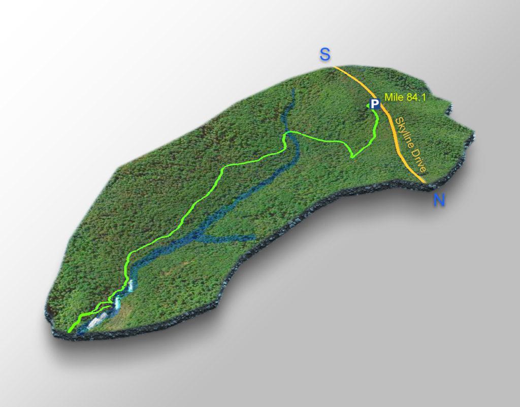 Trail Map - Jones Run Falls