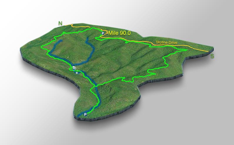 Map - Riprap Falls