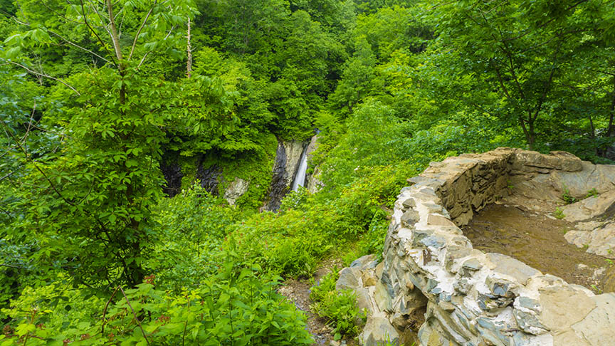 South River Falls - Viewpoint