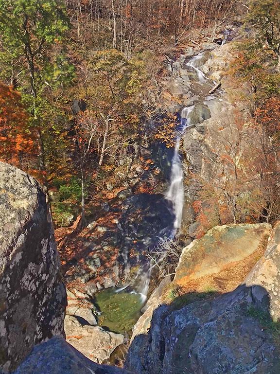 Whiteoak Canyon Falls #1 - Lookout
