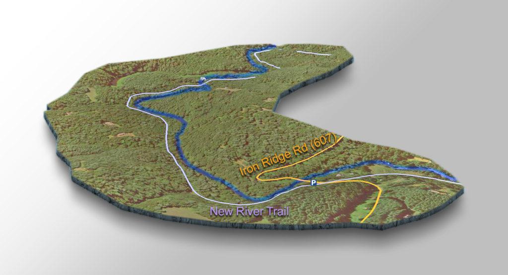 Trail Map - Chestnut Creek Falls