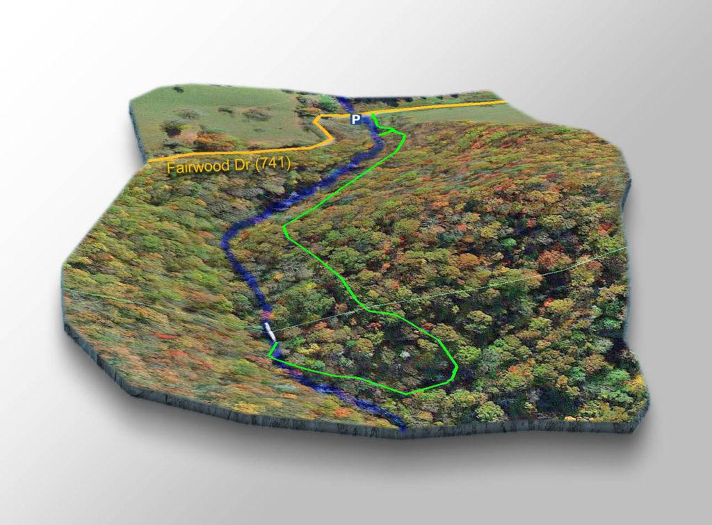 Trail Map - Comers Creek Falls