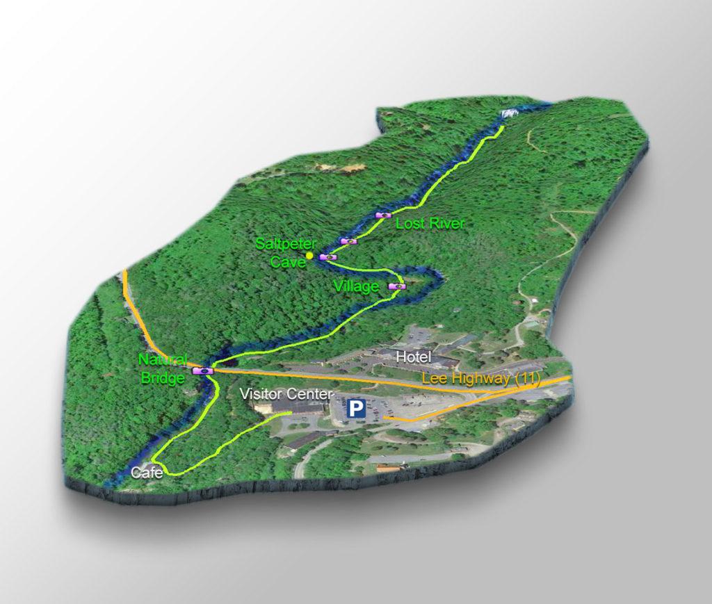 Trail Map - Lace Falls