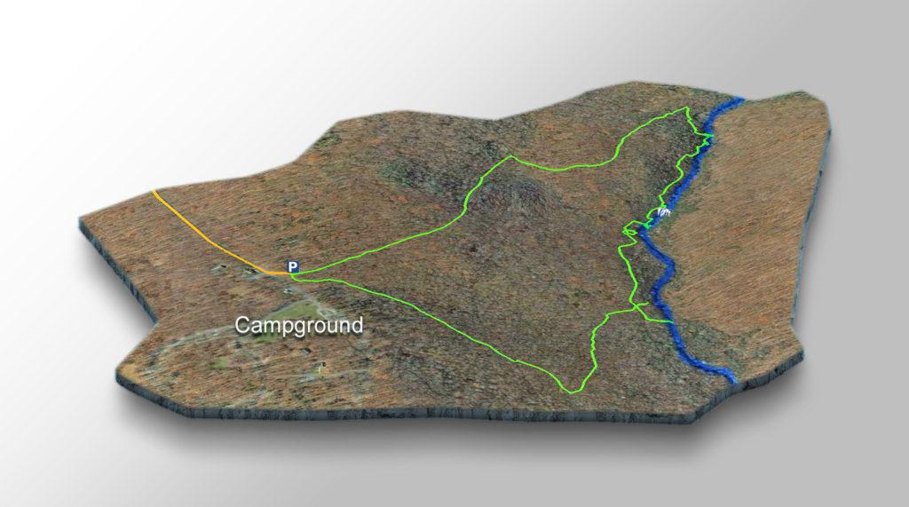 Trail Map-Wilson Creek Falls