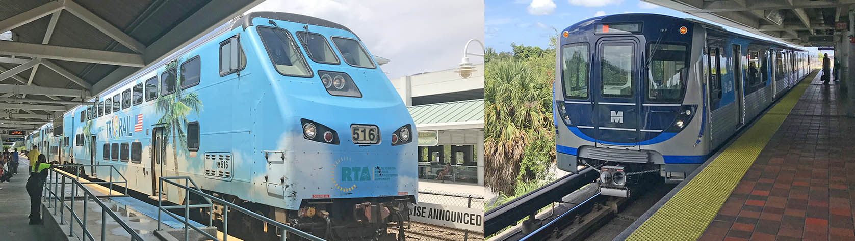FLL to Port of Miami Trains