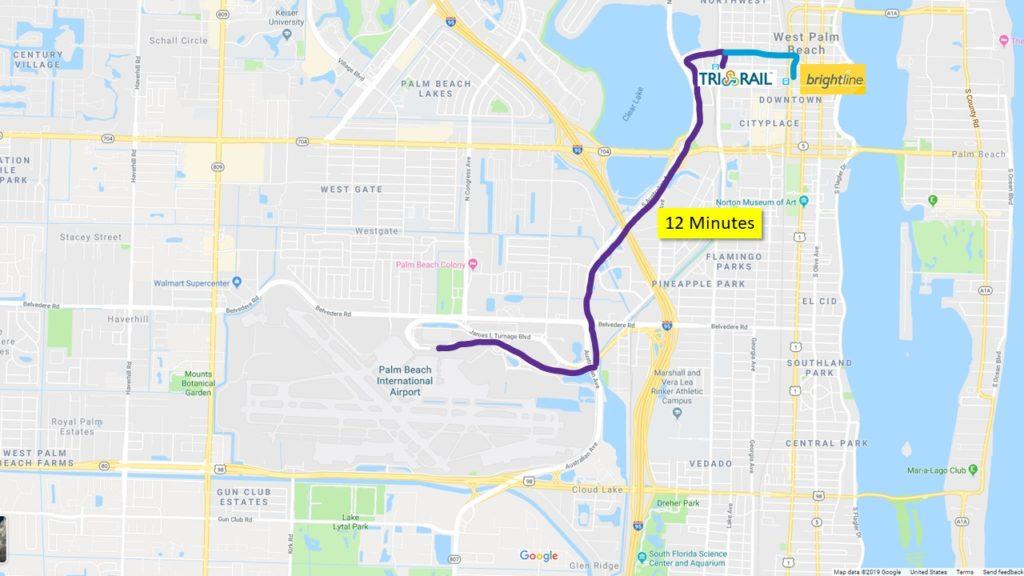 Palm Beach Airport Rail Transfers
