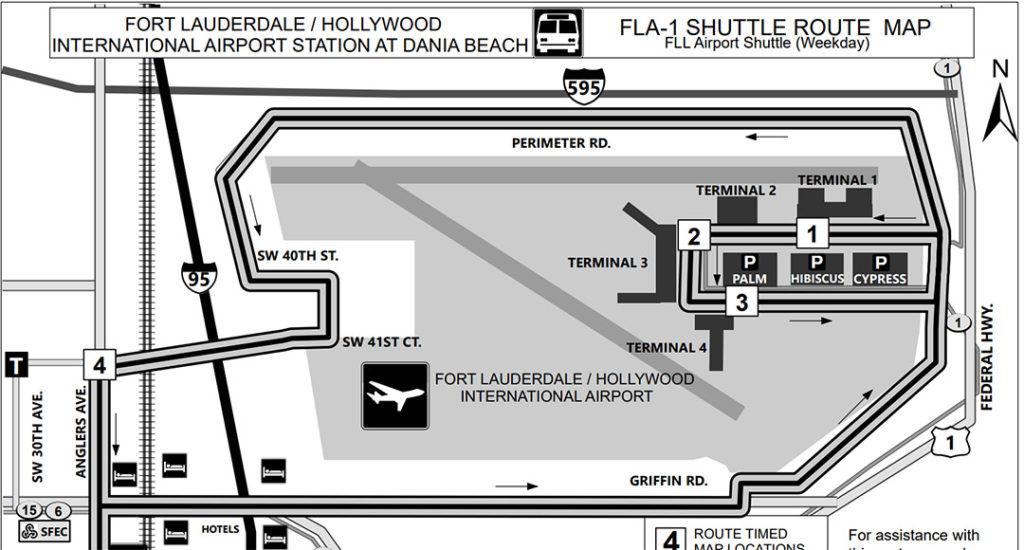 Tri-Rail FLL Bus Stops