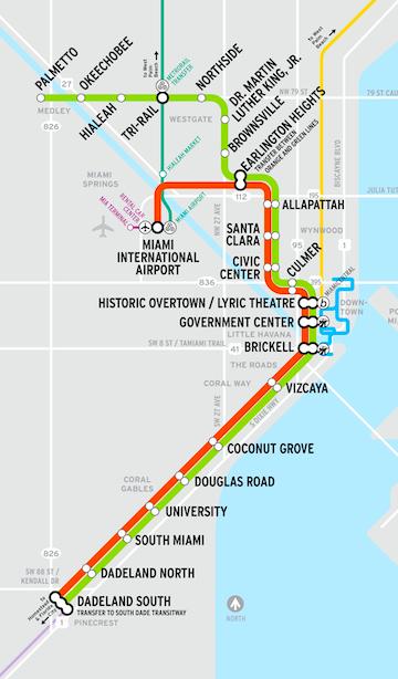 MetroRail - Green Line