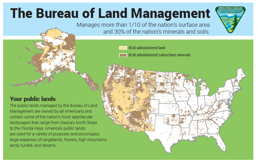 Bureau of Land Management Map