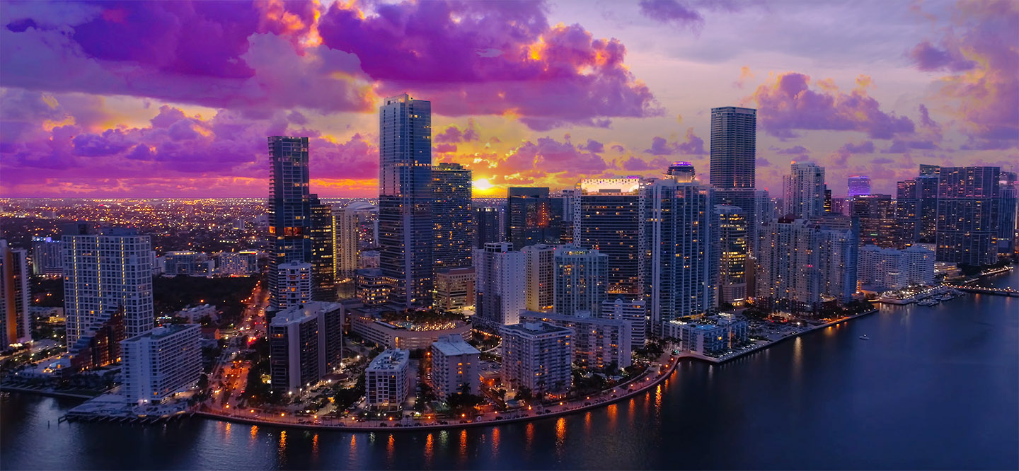 Brickell Miami Skyline
