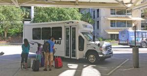 Cortrans Shuttle Van at Orlando Airport