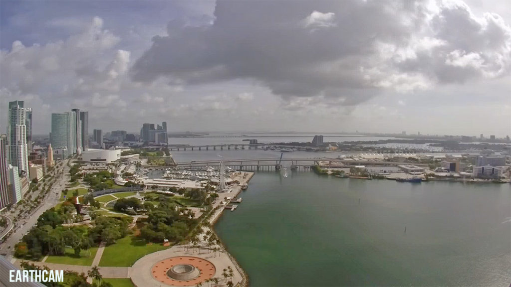 Earthcam View of PortMiami