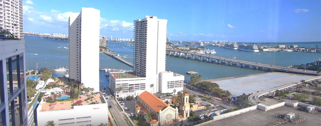 Hilton Hotel Views - Miami
