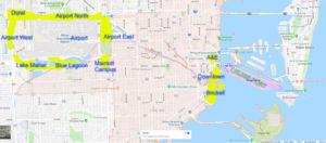 Port Miami Cruise Hotel Clusters