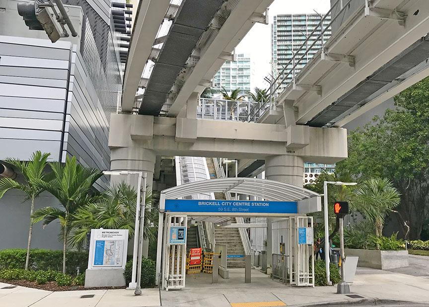 Metromover Station - Miami