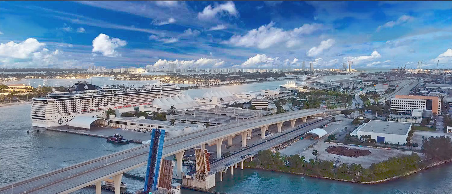 PortMiami webcam