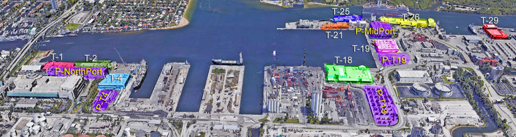Port Everglades Terminals and Parking
