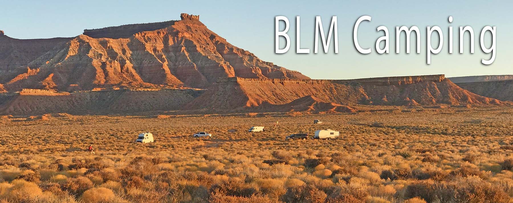 BLM Land Camping