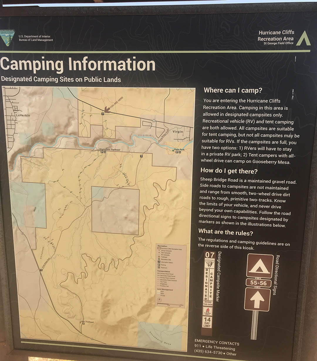Free Camping On Bureau Of Land Management Blm Land Let S See America