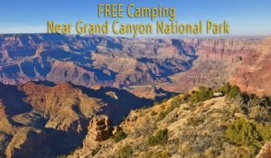 Free Camping Grand Canyon NP - A Guide